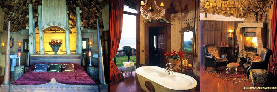 Interior of Ngorongoro Crater Lodge, Tanzania