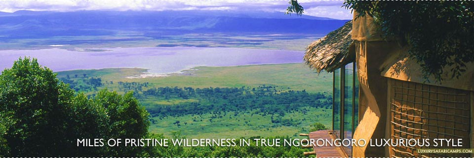 8th wonder of the World - Ngorongoro Crater Lodge, Tanzania
