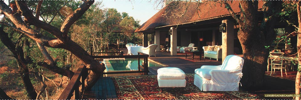 Royal Malewane Lodge - Presidential suite deck