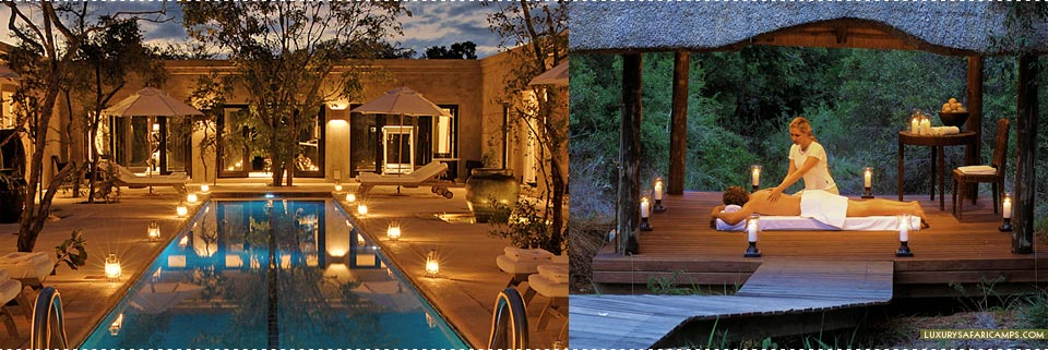 Royal Malewane Lodge - Bush Spa