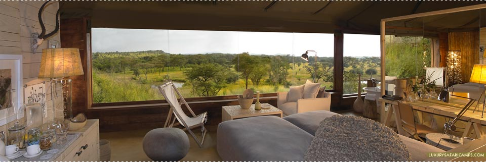 Singita Faru Faru Lodge Bedroom Lounge