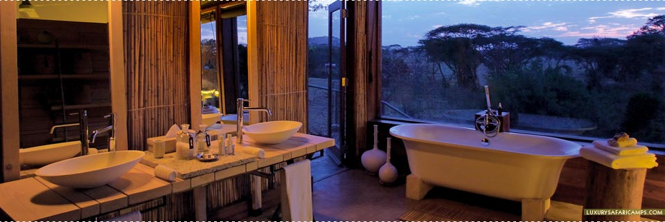 Singita Faru Faru Lodge - Luxurious Bathroom