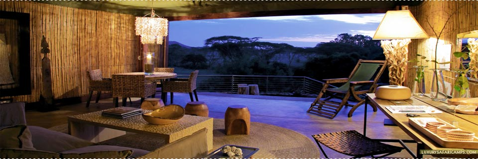Singita Faru Faru Lodge - Views from Bedroom