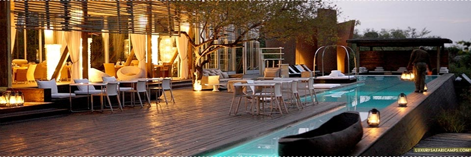 Pool Deck at Singita Lebombo Lodge