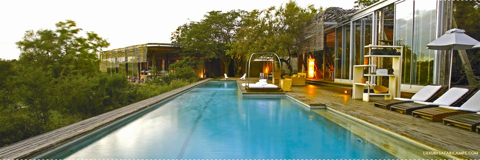 Pool at Singita Lebombo Lodge