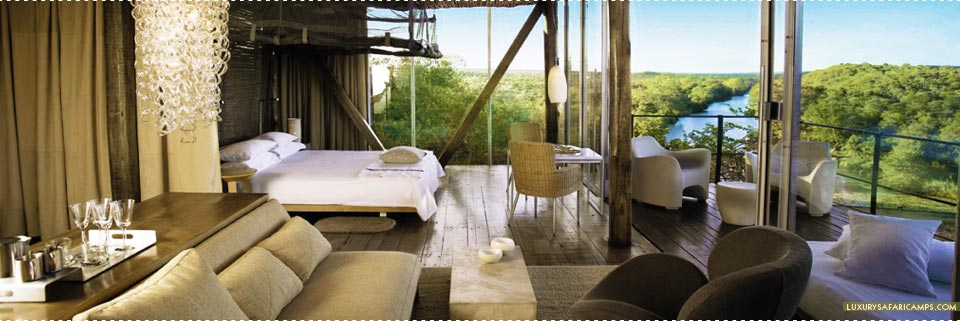 Bedroom at Singita Lebombo Lodge