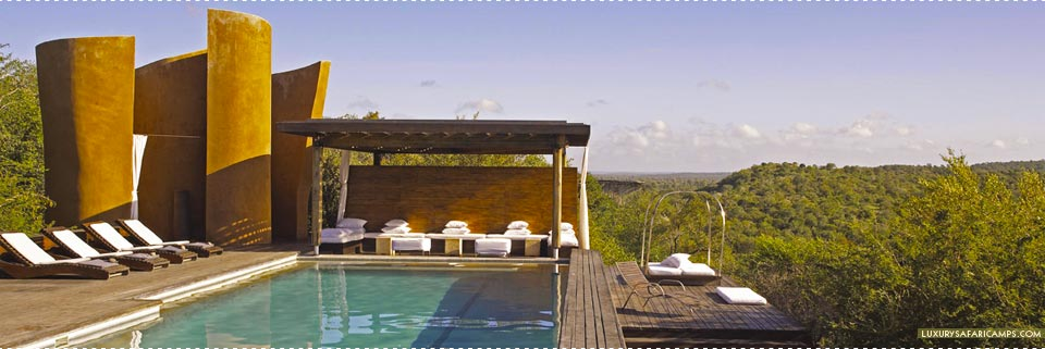 Views from the Pool at Singita Lebombo Lodge