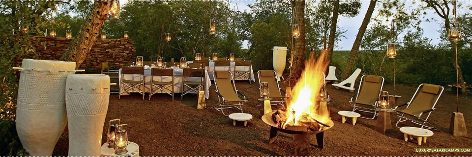 Traditional Dining at Singita Lebombo Lodge