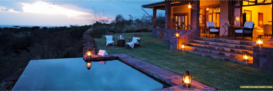 Private In-suite Pool at Singita Sasakwa Lodge