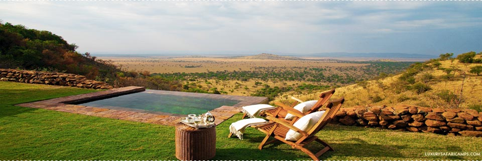 Breathtaking views at Singita Sasakwa Hill