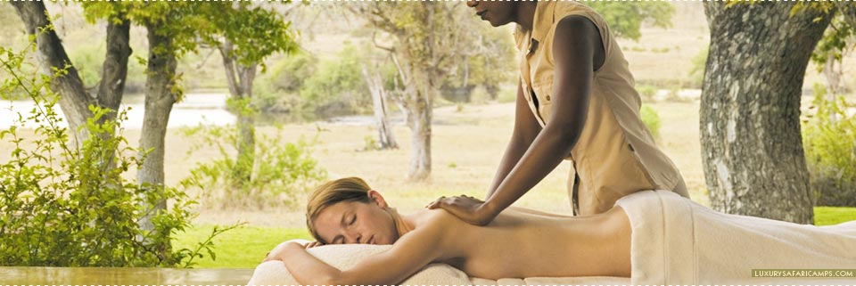 Spa treats at Singita Sasakwa Lodge