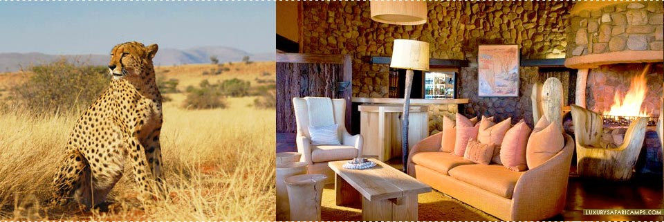 Tswalu Motse Lodge - Design elements