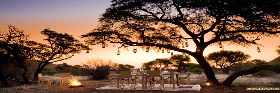 Tswalu Motse Lodge - Outdoor dining