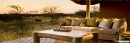 Tswalu Motse Lodge - Outdoor deck