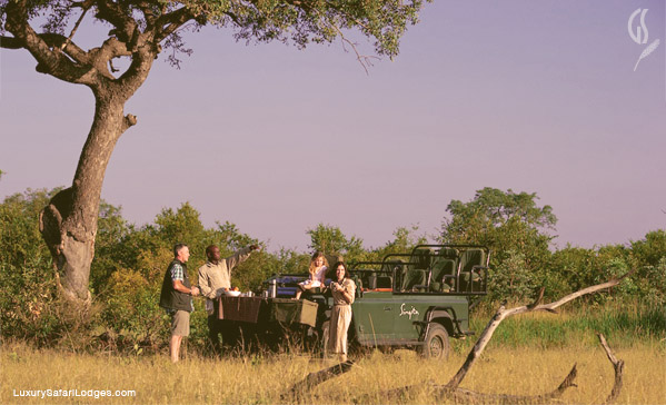 Family Safari at Singita Ebony Lodge