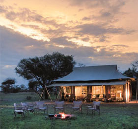 Private Fly-Camping with Guided Safaris