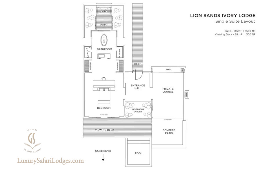 Lion Sands Ivory Lodge Villa