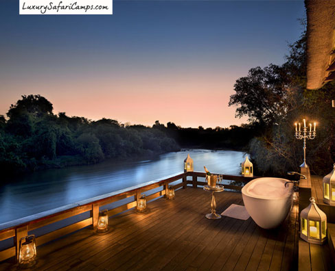 The Great Victoria Falls  Luxury Safari