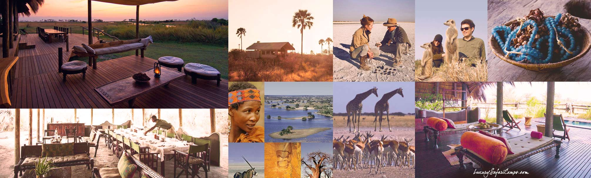 Camp Kalahari with Guided Safaris® LuxurySafariCamps.com