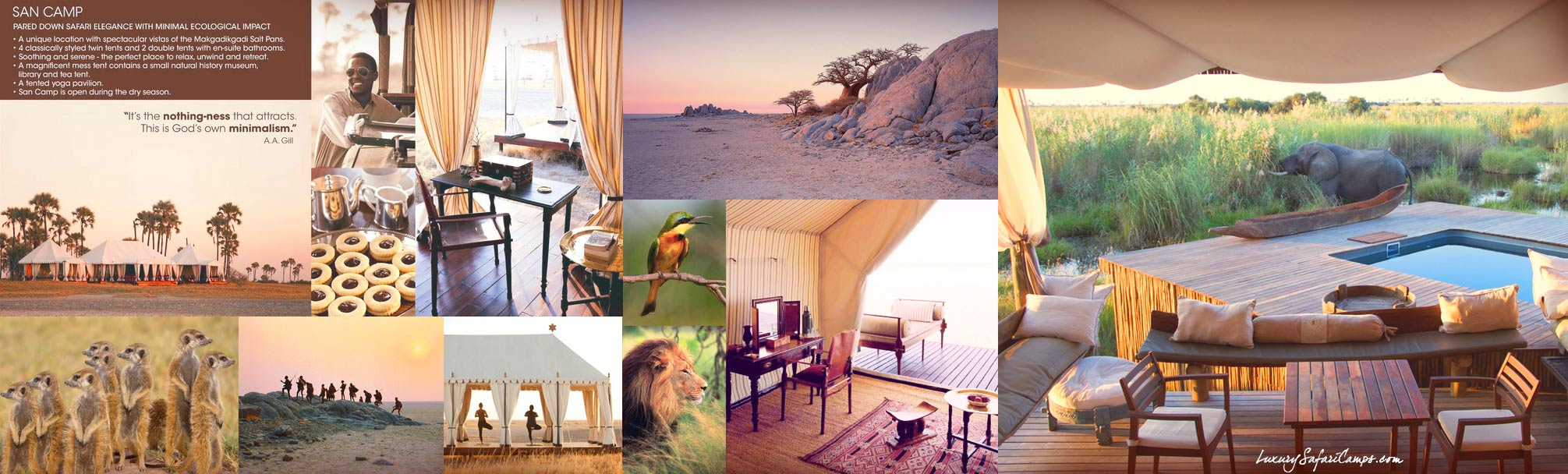 Private Safari with Guided Safaris® LuxurySafariCamps.com
