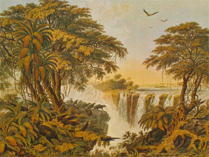 Victoria Falls JOHN THOMAS BAINES (Scenery and events in South Africa)