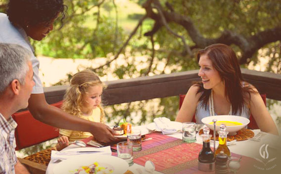 A Family Safari, dining for families